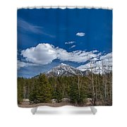 Canadian Rockies 13008 Shower Curtain