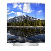 Canadian Rockies 8 Shower Curtain