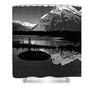 Canadian Rockies Shower Curtain