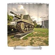 Canadian Tank  Shower Curtain