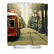 Canal #5 Shower Curtain