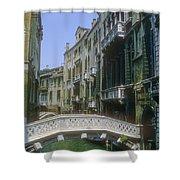 Canal Bridges Shower Curtain