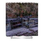Canal Lock 36 Shower Curtain