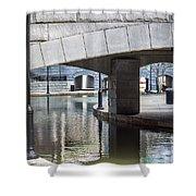 Canal Walk Shower Curtain