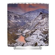 Canales Shower Curtain