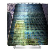 Canary Wharf Reflections Shower Curtain
