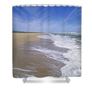 Canaveral National Seashore Shower Curtain