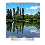 Canberra 6 Shower Curtain