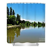 Canberra 7 Shower Curtain