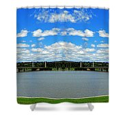 Canberra 9 Shower Curtain