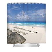 Cancun Beach Shower Curtain