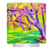 Candied Golf Game Shower Curtain