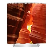 Candle Flame At Antelope Canyon Shower Curtain