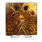 Candle Light Abstract Infiniti Fx  Shower Curtain