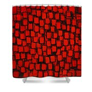 Candle Light Shower Curtain