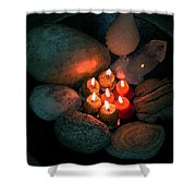 Candle Meet Shower Curtain