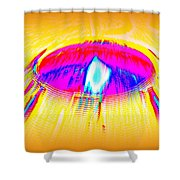 Candle On A Sunny Day Shower Curtain