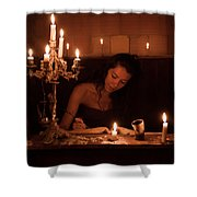 Candlelight Fantasia Shower Curtain