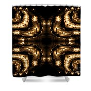 Candles Abstract 1 Shower Curtain