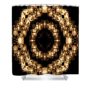 Candles Abstract 6 Shower Curtain