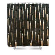Candles On The Lake Udaipur India Shower Curtain