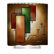 Candlsticks Shower Curtain