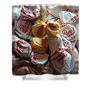Candy - Peanut Butter Kisses - Sweets Shower Curtain