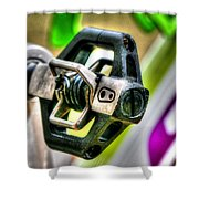 Candy Bike Pedal Shower Curtain