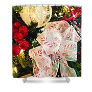 Candy Cane Dreams Shower Curtain