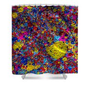 Candy Colored Blast Shower Curtain