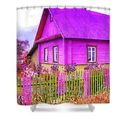 Candy Cottage - Featured In Comfortable Art Group Shower Curtain