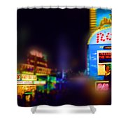 Candy Floss Rodeo Shower Curtain
