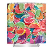 Candy Fruit Shower Curtain