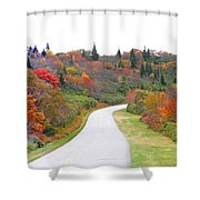 Candy Land On The Blueridge Parkway Shower Curtain