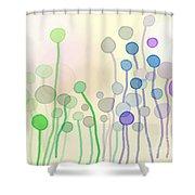 Candy Rain 2 Shower Curtain