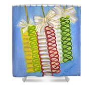 Candy Ribbon  Shower Curtain