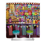 Candy Shop Shower Curtain