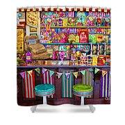 Candy Shop Shower Curtain