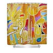 Candy Shop Garnish Shower Curtain