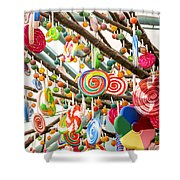 Candy Tree Shower Curtain