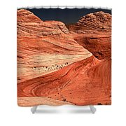 Candyland Canyons Shower Curtain