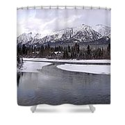 Canmore Winter Shower Curtain