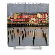 Cannery Pier Hotel Shower Curtain