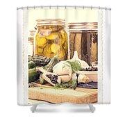 Canning Kitchen Art Shower Curtain
