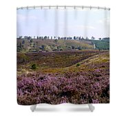 Cannock Chase Heather 4 Shower Curtain