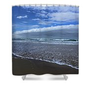 Cannon Beach Surf And Storm Shower Curtain