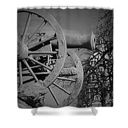 Cannon Fire Of Washington Shower Curtain