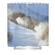 Cannon Mountain Ski Area - Franconia Notch State Park New Hampshire Shower Curtain