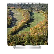 Cannon Mountain - White Mountains New Hanpshire Shower Curtain