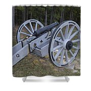 Cannon Ninety Six National Historic Site Shower Curtain
